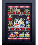 Christmas Time holiday cross stitch chart Bobbie G Designs - $9.00