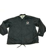 VINTAGE Champion Iowa Girls Athletic Union Jacket Snap Button Windbreake... - $21.87