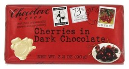 Chocolove - Organic Dark Chocolate Bar Cherries - 3.2 oz.packof 2 - €16,77 EUR
