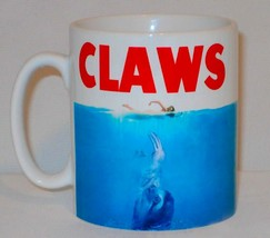 Claws Mug Can Be Personalised Funny Jaws Poster Sloth Animal Lover Gift Cup - $11.40