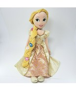 DISNEY RAPUNZEL TANGLED EVER AFTER BRIDE WEDDING STUFFED ANIMAL PLUSH TO... - $31.09