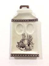 Vintage/Antique Porcelain Japanese Spoon Rest Kitchen Gadget - $7.79
