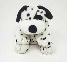 Ty Pluffies Dotters 2006 Dalmatian Puppy Dog Black Spot Stuffed Animal Plush Toy - $42.08