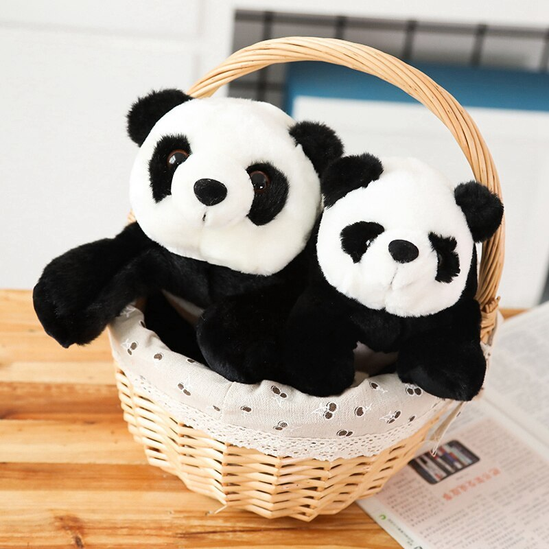 Cute Baby Large Size Panda Bear Plush Stuffed Animal Doll Animals Toy Pillow Car image 6