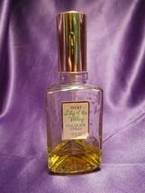 Vintage Avon Lily of the Valley Cologne Spray 1.8 Fl OZ Bottle, 25% full - $11.88