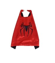 Children's Metallic Red Black Marvel Spiderman Spider Man Superhero Cosp... - $9.89