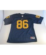 Vtg Nike Michigan Wolverines Mesh Football Jersey #86 Youth Medium Tai S... - $19.79