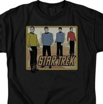 Star Trek Animated T-shirt Retro Sci-Fi Series graphic cotton tee CBS396 image 2