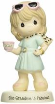 This Grandma Is Fabulous Precious Moments Figurine TGIF Coffee Sunglasse... - $45.53