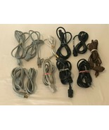Electrical Mixed Lot Plugs Extension Cords Power Cords Double Split Two ... - $14.99
