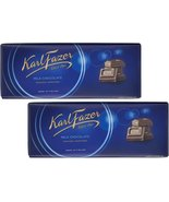 Karl Fazer Blue Original Finnish Milk Chocolate Bar, 200 g / 7.05 oz (2 ... - $24.05