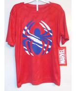Marvel Boys Spider-Man T-Shirt Size 6-7 Small NWT - $9.59