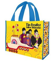 The Bealtes Yellow Submarine Large Recycled Tote (The Beatles Yellow Sub... - $15.70