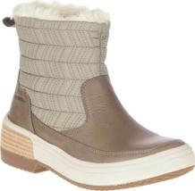 Merrell Haven Bluff Polar Waterproof Brindle Brown Comfort Boots J17876 Size 8.5 - $88.78