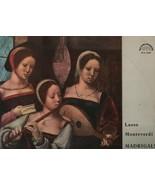 Madrigals - Lasso, Monteverdi - Prague Madrigal Singers - Miroslav Venho... - $1.86
