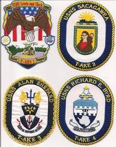 US Navy USS T-AKE- 1 - 11 Patches  image 2