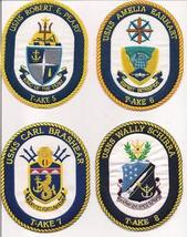 US Navy USS T-AKE- 1 - 11 Patches  image 3