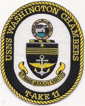 US Navy USS T-AKE- 1 - 11 Patches  image 5