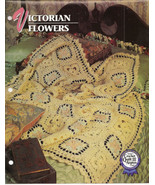 Victorian Flowers Afghan Crochet Pattern Annies Attic Crochet & Quilt Club - $8.50