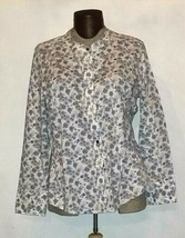 Glamour X Lane Bryant Women's Button Down Long Sleeve Shirt Plus Size 22/24 - $12.99