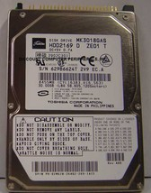 MK3018GAS Toshiba HDD2169 30GB 2.5in 9.5MM IDE 44PIN Drive Tested Free U... - $9.76