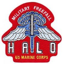 Usmc High Altitude Low Opening (Halo) Parachute Jumper Military Patch Freefall - $9.99