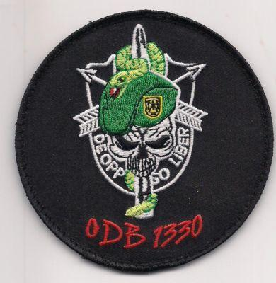 US Army ODB 1330 Special Forces Patch With Velcro