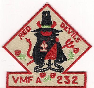 USMC VMFA-232 Marine Fighter Attack Squadron Patch