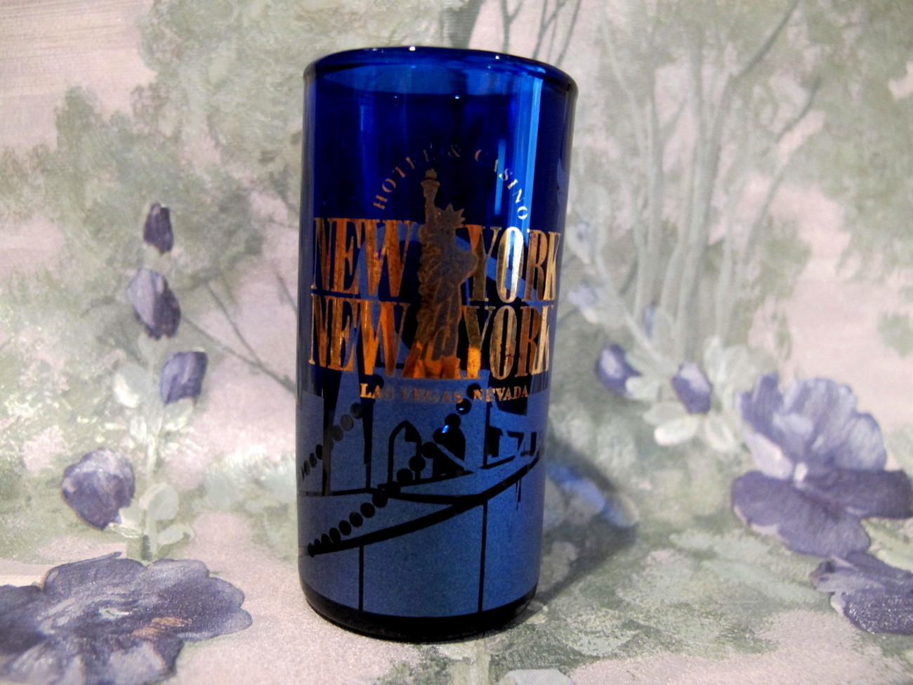 Primary image for New York New York Hotel Casino Las Vegas Shot Glass Souvenir Collector Nevada
