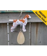 Pointer English deluxe crate tag art, hang anyw... - $27.00