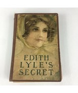 Edith Lyle's Secret by Mary J. Holmes-1900's - $23.35