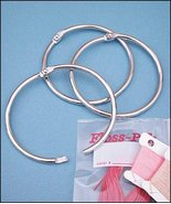 Floss Pak 3 inch metal rings floss organizer cr... - $1.25