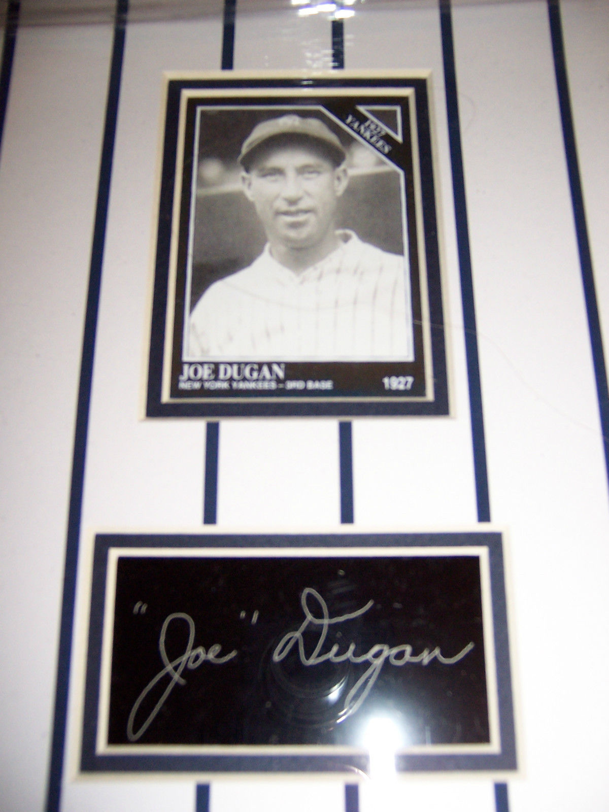 Rare Signed 1927 Yankees Pirates World Series Poster Autographed Player Pictures