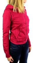 NEW NWT LEVI'S JUNIORS BASIC CLASSIC COTTON ATHLETIC HOODIE JACKET SWEATER RED image 5