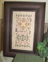 A Quaker Autumn sampler cross stitch chart From The Heart  - $7.20