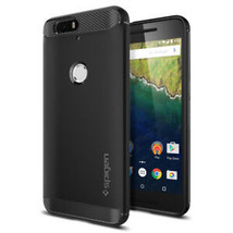 Google Nexus 6P Case Spigen [Rugged Armor] Shockproof TPU Case Slim Thin... - $28.27