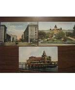 Early 1900s California Postcards - Glendale, San Diego and Venice - £7.70 GBP