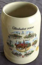 Oktoberfest 2000 Ceramic Collectible Stein – WS – Made in Germany – VGC ... - $49.49