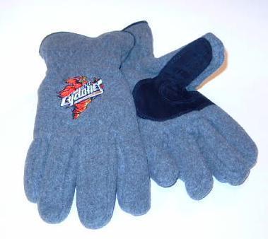Iowa State Cyclones Mens Lined Fleece Gloves sz Medium Bonanza