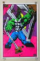 1996 Hulk 35 x 23 Marvel Comics blacklight poster 1: Avengers/1990's Mar... - $148.50