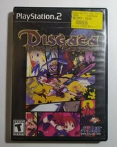 Disgaea Hour Of Darkness Playstation PS2 - Game Complete,CIB - $13.72