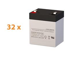 Apc SRT10KRMXLT30 Ups Battery Set (Replacement) By Sigmas Tek - 12v 5.5AH - $556.62