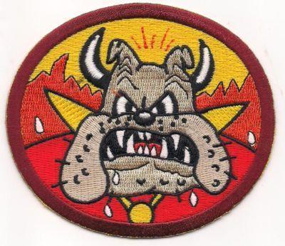 USMC Disney WWII Series VMF 351 Peg Leg Petes Devil Dogs Patch Great Find