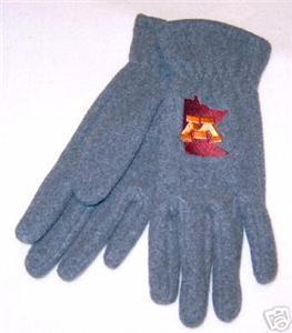Minnesota Golden Gophers Ladies Fleece Gloves NWT Bonanza