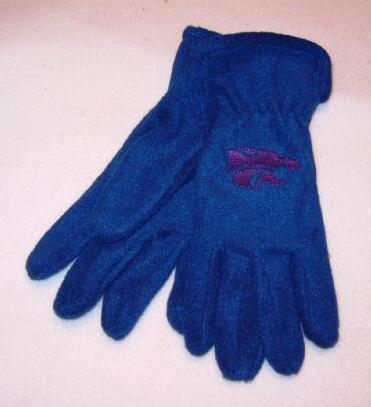 Kansas State Wildcats Mens Lightweight Fleece Gloves Bonanza