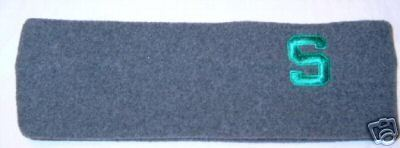 Michigan State Spartans Grey Arctic Fleece Headband NWT Bonanza