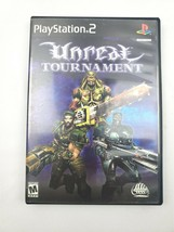 Unreal Tournament 2000 PlayStation 2 PS2 Game and Manual - $8.90