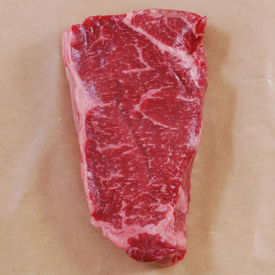 Primary image for Wagyu Strip Loin, MS4, Cut To Order - 13 lbs, 1 3/4-inch steaks