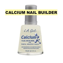 L.A GIRL CALCIUM NAIL BUILDER FOR THICK, HEALTHY NAILS MADE IN U.S.A