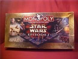 Monopoly Star Wars Episode I Board Game Made by Hasbro